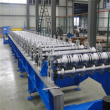Light weight wall and roof plate roll forming machine